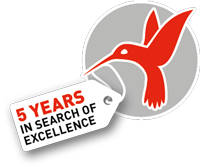 5 years in search of excellence kolibri