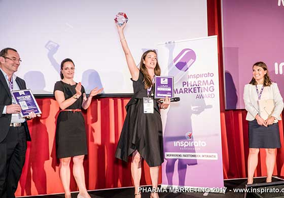 inspirato Pharma Marketing Award